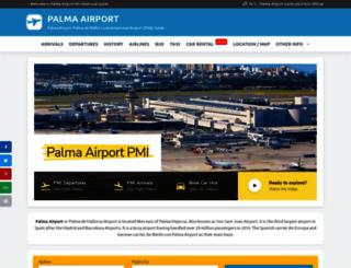 palma-airport.info screenshot