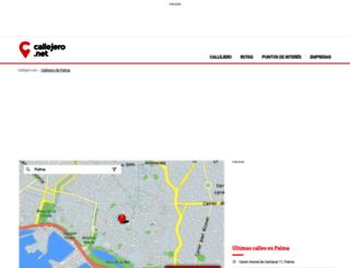 palma.callejero.net screenshot