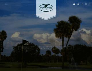 palmaire.clublink.com screenshot