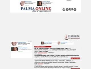 palmaonline.it screenshot
