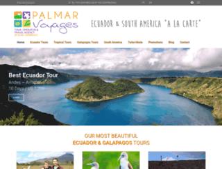 palmarvoyages.com screenshot