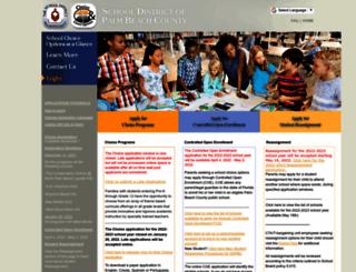palmbeachdev.smartchoiceschools.com screenshot