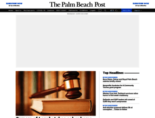 palmbeachpost.com screenshot