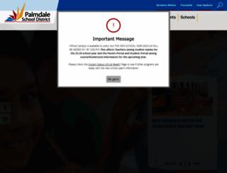 palmdalesd.org screenshot