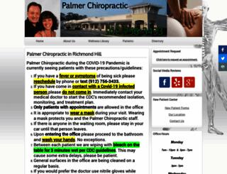 palmerchiroga.com screenshot