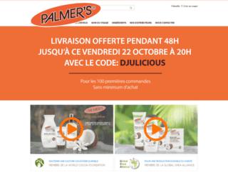 palmers-france.fr screenshot