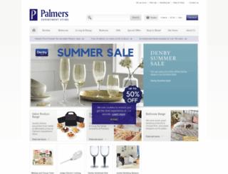 palmerstores.com screenshot