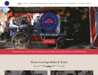 palmettocarriage.com screenshot