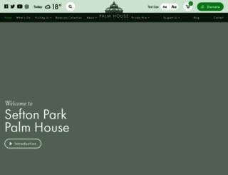 palmhouse.org.uk screenshot