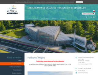 palmiarnia.gliwice.pl screenshot