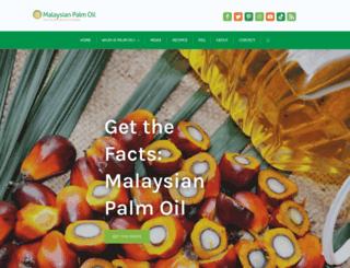 palmoilhealth.org screenshot