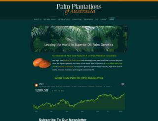 palmoilhq.com screenshot