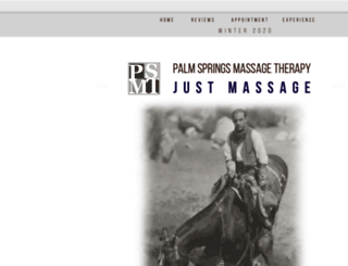 palmspringsmassagetherapy.com screenshot