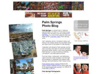 palmspringsphotoblog.com screenshot