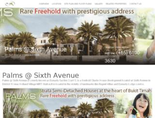 palmssixthavenue.net screenshot