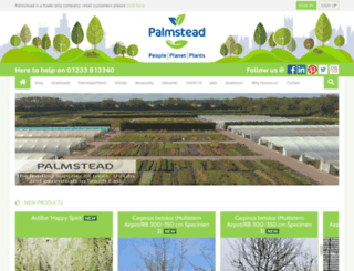 palmstead.co.uk screenshot