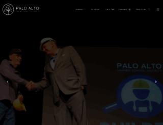 palo-verde.pausd.org screenshot