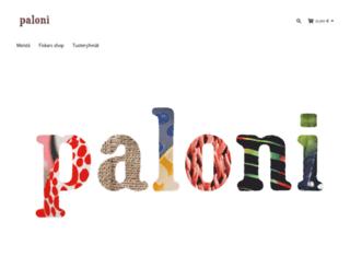 paloni.fi screenshot