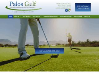 palosgolf.com screenshot