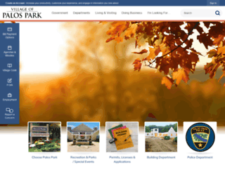 palospark.org screenshot