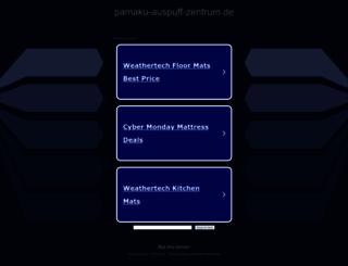 pamaku-auspuff-zentrum.de screenshot