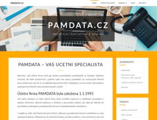 pamdata.cz screenshot
