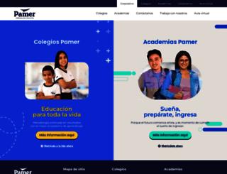 pamer.edu.pe screenshot