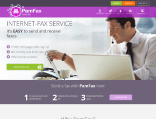 pamfax.biz screenshot