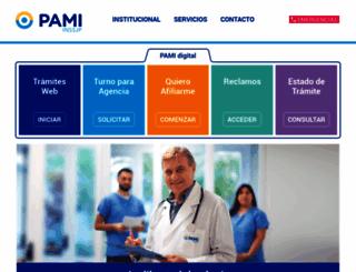 pami.org.ar screenshot