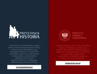 pamiec.pl screenshot