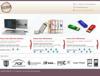 pamieciflashusbreklamowe.pl screenshot