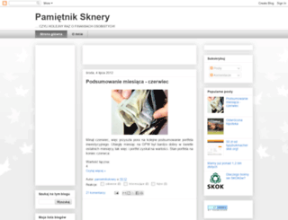 pamietniksknery.blogspot.com screenshot