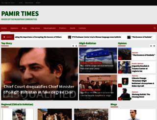 pamirtimes.net screenshot