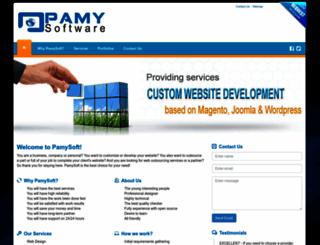 pamysoft.com screenshot
