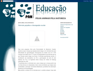 pan-educacao.blogspot.com screenshot