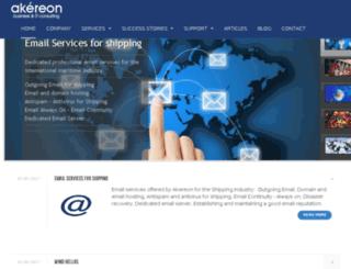 pan.akereon.com screenshot
