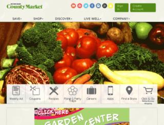 pana.mycountymarket.com screenshot