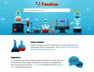 panabee.com screenshot