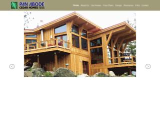 panabodehomes.com screenshot