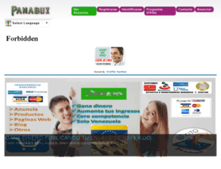 panabux.com.ve screenshot