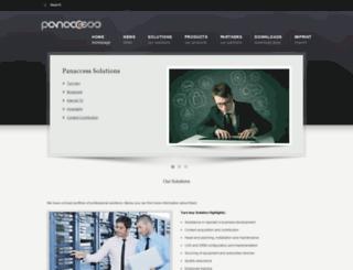 panaccess.com screenshot