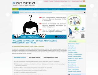 panaceaerp.com screenshot