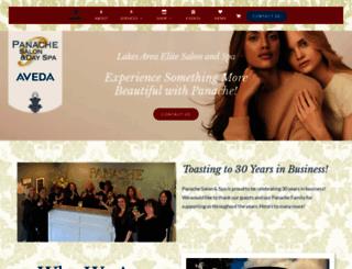 panachesalonspa.com screenshot