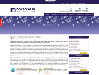 panachewebsolutions.com screenshot