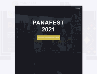panafestghana.org screenshot