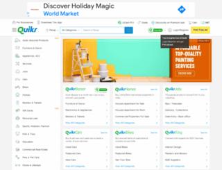 panaji.quikr.com screenshot