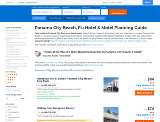 panama-city.hotelscheap.org screenshot