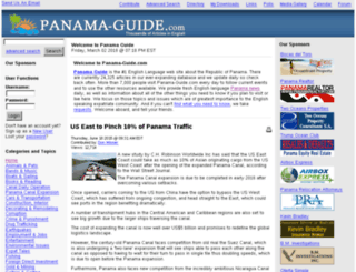 panama-guide.com screenshot