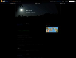 panama.fullblog.com.ar screenshot