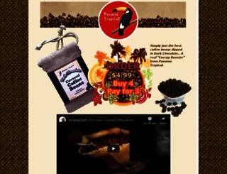 panamachocolatecoffeebeans.com screenshot